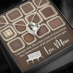 A Box Of Chocolates Forever Love Necklace Gift For Mama
