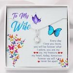 We'll Never Be Apart Alluring Beauty Necklace Gift For Wife