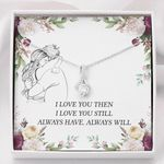 I Love You Then Special Alluring Beauty Necklace  For Wife