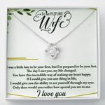 How Special You Are Love Knot Necklace  Gift For  Wife