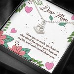Love You So Much Anchor Necklace Gifts For Mom