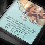 Love You Forever Anchor Necklace  Gift For  Wife