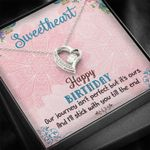 Our Journey Isn't Perfect But It's Ours Gift For Her Forever Love Necklace