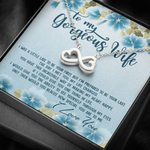 I'm Prepared To Be Your Last Infinity Heart Necklace Gift For Wife