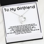 I Love You So Much Gift For Girlfriend Forever Love Necklace