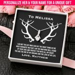 Doe Of My Dreams Custom Name Alluring Beauty Necklace Gift For Her