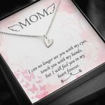 Gift For Angel Mom I'll Feel You In My Heart Sweetest Hearts Necklace