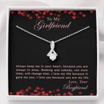 Because You Are Always In Mine Alluring Beauty Necklace Gift For Lovers