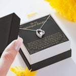 I Will Forever Love You Forever Love Necklace Gift For Bonus Daughter