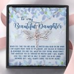 Carry You In My Arms Dragonfly Dreams Necklace Gift For Daughter