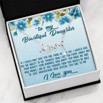 How Happy You Make Me Scripted Love Necklace Gift For Daughter