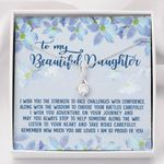 So Proud Of You Flower Alluring Beauty Necklace Gift For Daughter
