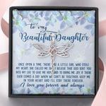 I'll Stay There Forever Dragonfly Dreams Necklace Gift For Daughter