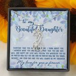 Pray That You Are Safe Giraffe Couple Necklace Gift For Daughter