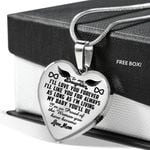 I'll Like You For Always Heart Pendant Necklace Gift For Daughter