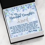 The Strength To Face Challenges Scripted Love Necklace Gift For Daughter