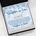 The Love Of His Life Scripted Love Necklace Gift For Daughter In Law