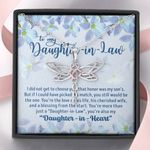 Daughter In Love Dragonfly Dreams Necklace Gift For Daughter In Law