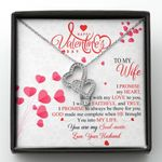 You Into My Life Gift For Wife Double Hearts Necklace