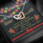 You Embody The True Spirit Of Christmas Interlocking Hearts Necklace Gift For Mama