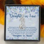 The Love Of His Life Giraffe Couple Necklace Gift For Daughter In Law
