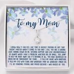 Whenever I May Go Whatever I Might Do Alluring Beauty Necklace Gift For Mama