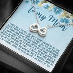 All You Have Sacrificed So Much For Me Infinity Heart Necklace Gift For Mom