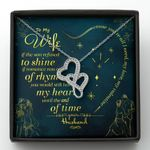 If The Sun Refused To Shine Double Hearts Necklace Gift For Wife