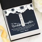 You Will Always Have Me Birthstone Name Bar Necklace Gift For Daughter
