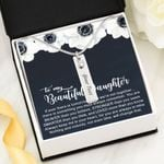 Always Keep Me In Your Heart Birthstone Name Bar Necklace Gift For Daughter
