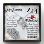 I Have Been Waiting For You All My Life Gift For Soulmate Double Hearts Necklace