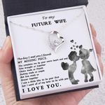 Love Made Us Forever Together Gift For Future Wife Forever Love Necklace
