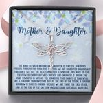 At The End Of The Day Dragonfly Dreams Necklace Gift For Daughter And Mother
