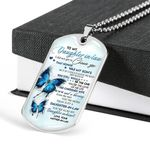 I Did Not Get Choose You Dog Tag Pendant Necklace Gift For Daughter In Law