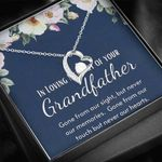 Gone From Our Sight Forever Love Necklace Gift For Grandpa