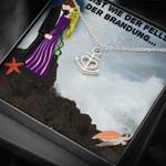 Der Fells In Der Brandung Anchor Necklace Gift For Wife