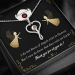 Thank You For All You Do Stethoscope Necklace Gift For Women