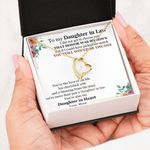 You Still Would Be The One Forever Love Necklace Gift For Daughter In Law