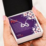 The Many Things You Do Infinity Heart Necklace Gift For Mom