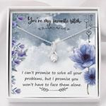 You're My Favorite Bitch Alluring Beauty Necklace Gift For Women