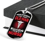 How To Be A Nurse Stainless Dog Tag Pendant Necklace Gift For Men