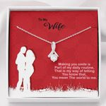 Making You Smile Alluring Beauty Necklace Gift For Wife