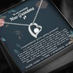 Congratulations You're Getting Promoted Forever Love Necklace Gift For Grandma