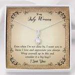 Love And Apperiate You Always Alluring Beauty Necklace Gift For Women