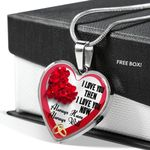 Always Have Always Will Love You Heart Pendant Necklace Gift For Wife