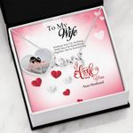 Together We're Everything Scripted Love Necklace Gift For Wife