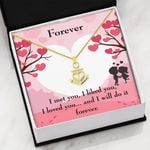 I Met You I Liked You Gift For Lover Anchor Necklace