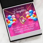 Colorful Balloons Enjoy Your Special Day   Forever Love Necklace