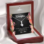 Gift For Daughter No Matter Where You Go Alluring Beauty Necklace