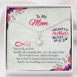 Alluring Beauty Necklace Gift For Mom All I Love